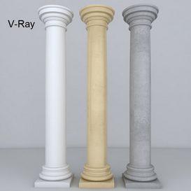 Column 3d model Download  Buy 3dbrute
