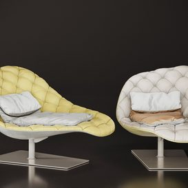 Bohemian chaise longue 3d model Download  Buy 3dbrute