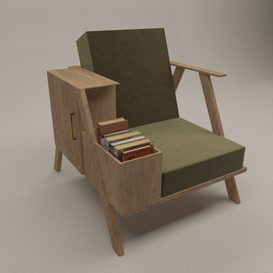 Modern chair 3d model Download  Buy 3dbrute