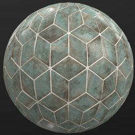 Hemase Mat 01 - A Mano Rhomb Ottiano - 2k