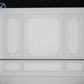Wall moulding 3d model Download  Buy 3dbrute