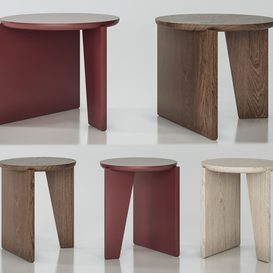 Wu Side Tables by Egg Collective 3d model Download  Buy 3dbrute