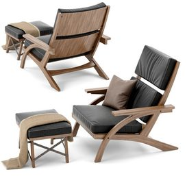 Taguaiba armchair by Carlos Motta LT 3d model Download  Buy 3dbrute