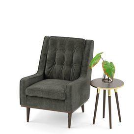 Scott armchair LT 3d model Download  Buy 3dbrute