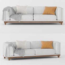 Sofa CASE Triple LT 3d model Download  Buy 3dbrute