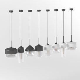 Amber pendant lights LT 3d model Download  Buy 3dbrute