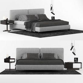 BED M01 LT 3d model Download  Buy 3dbrute