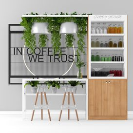 Coffee Shop LT 3d model Download  Buy 3dbrute