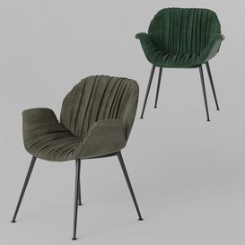 Globewest Abigail Armchair LT 3d model Download  Buy 3dbrute