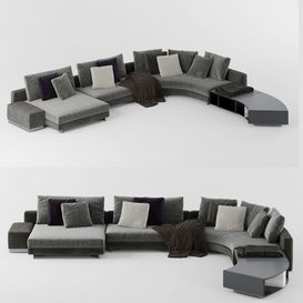 Sofa 6 M 3d model Download  Buy 3dbrute