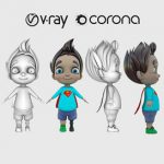 Child character 3d model Download  Buy 3dbrute