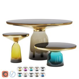 Bell Tables Set 3d model Download  Buy 3dbrute