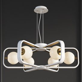Chandelier Suspension Light Avola Gold Maytoni Modern 3d model Download  Buy 3dbrute