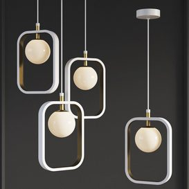 Suspension Light Avola Gold Maytoni Modern 3d model Download  Buy 3dbrute