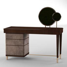 Smania dressing table 3d model Download  Buy 3dbrute