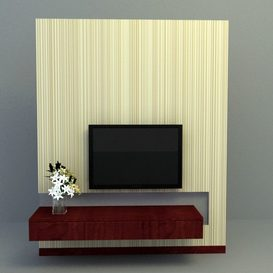 tv panel 3d model Download  Buy 3dbrute