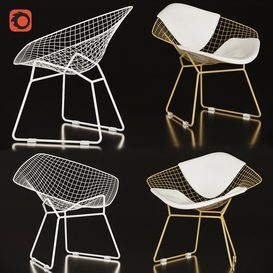 Bertoia Diamond 3d model Download  Buy 3dbrute