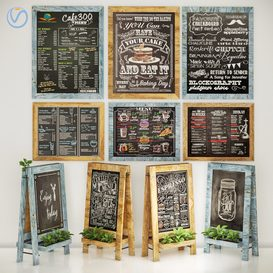 chalkboard 3d model Download  Buy 3dbrute