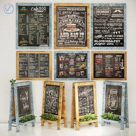 chalkboard 3d model Download  Buy 3dbrute