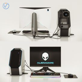 Dell Alienware 3d model Download  Buy 3dbrute