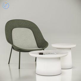 DeVorm Nook Chair 3d model Download  Buy 3dbrute