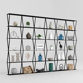 Iron Rack Partition 3d model Download  Buy 3dbrute