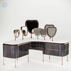 Kara Dressing table By Natevo 3d model Download  Buy 3dbrute
