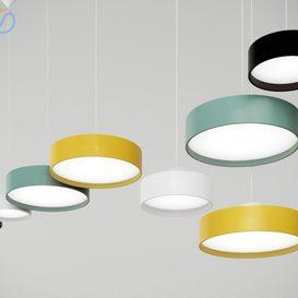 Louis Poulsen LP Circle Pendant Lamps 3d model Download  Buy 3dbrute