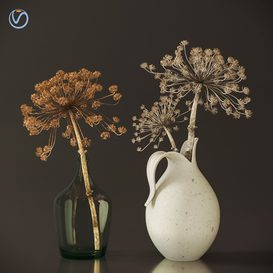 Modern dry branch vase 3d model Download  Buy 3dbrute