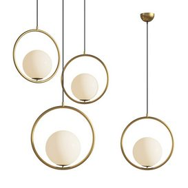 Modern Style Suspension Pendant light PL372 3d model Download  Buy 3dbrute