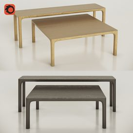 Molloy coffee tables by Nau design 3d model Download  Buy 3dbrute