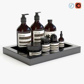 Bathroom accessories 01 3d model Download  Buy 3dbrute