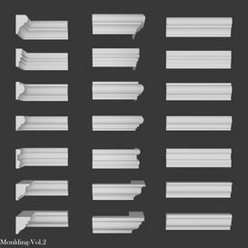 moulding vol 2 3d model Download  Buy 3dbrute