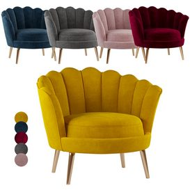 Santena chair 3d model Download  Buy 3dbrute