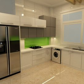 modern kitchen 3d model Download  Buy 3dbrute