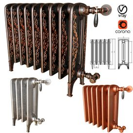 RadiatorBohemia 3d model Download  Buy 3dbrute