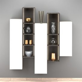 Hanged Cabinets 3d model Download  Buy 3dbrute