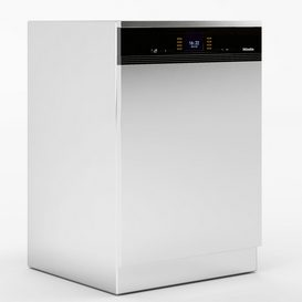 Miele G 6900 SCi Dishwasher LT 3d model Download  Buy 3dbrute