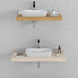 Washbasin RAVAK Ceramic R LT 3d model Download  Buy 3dbrute