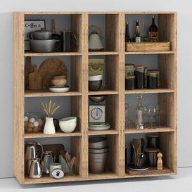 Kitchen Decorative set 050 LT 3d model Download  Buy 3dbrute