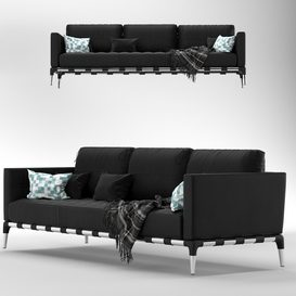 Cassina PRIVE 241 31 33 L 3d model Download  Buy 3dbrute