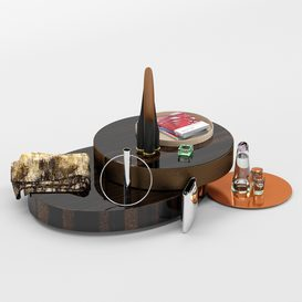 Decorative set MT 01 3d model Download  Buy 3dbrute