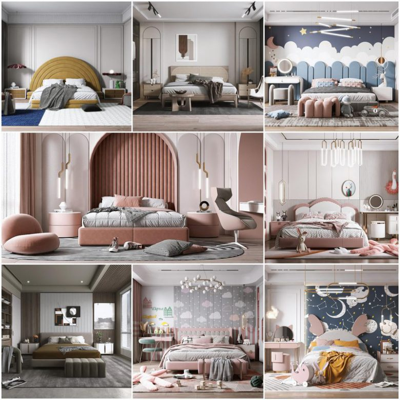 Bedroom vol1 2021 3d model