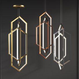 Orbis vx58 Studioendo chandelier 3d model Download  Buy 3dbrute
