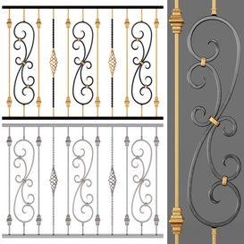 Fencing 01 3d model Download  Buy 3dbrute