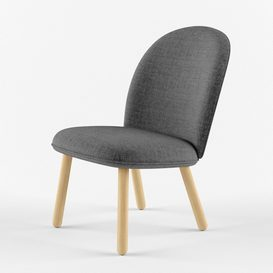 Ace lounge chair normann 3d model Download  Buy 3dbrute