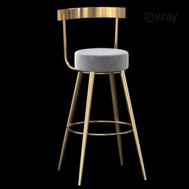 Chair Table Bar 3d model Download  Buy 3dbrute