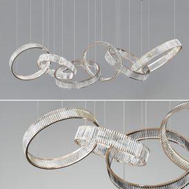 Crystal Ring Chandelier 3d model Download  Buy 3dbrute