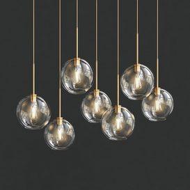 Global Glass Lights 3d model Download  Buy 3dbrute