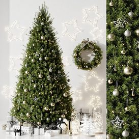 Christmas tree 3d model Download  Buy 3dbrute